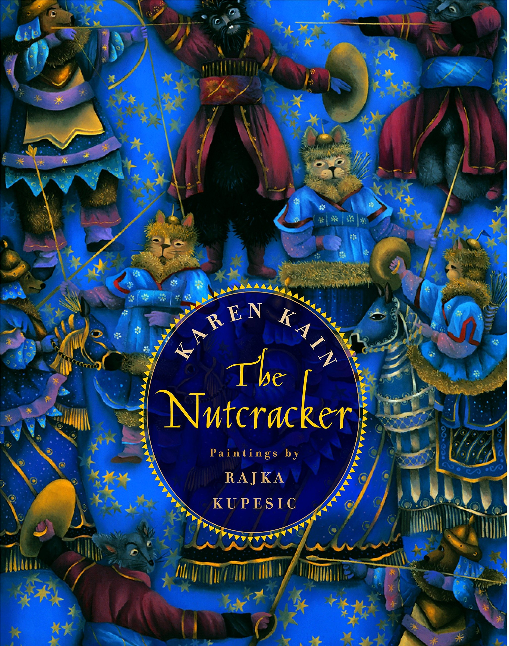 Nutcracker print featuring MARIE
