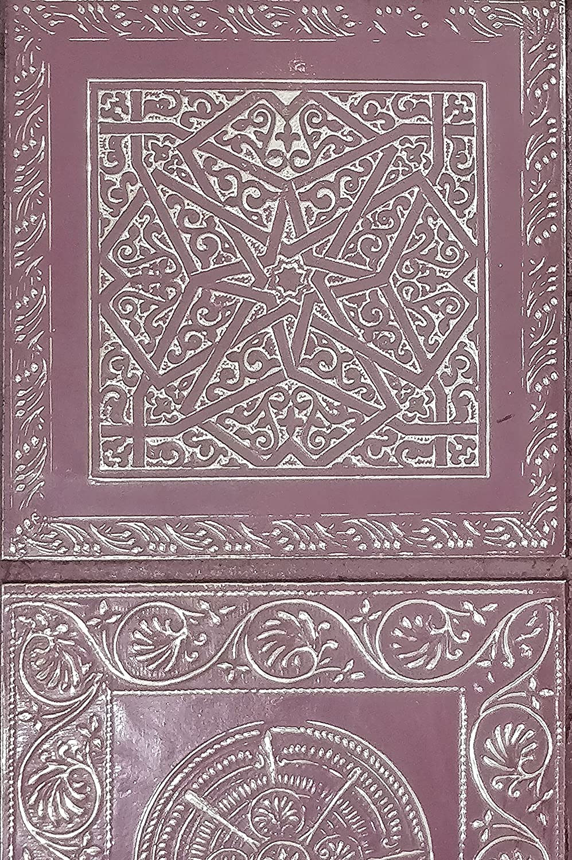 4er Set Orientalisches Wandbild Wanddeko Sahra-3- 30cm aus Metall ...