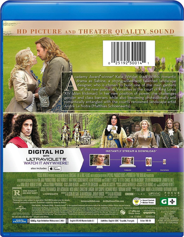 A Little Chaos [Region 1]: Amazon co uk: DVD & Blu-ray