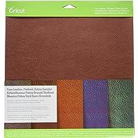 Cricut Pebbled Faux Leather, Patina Sampler