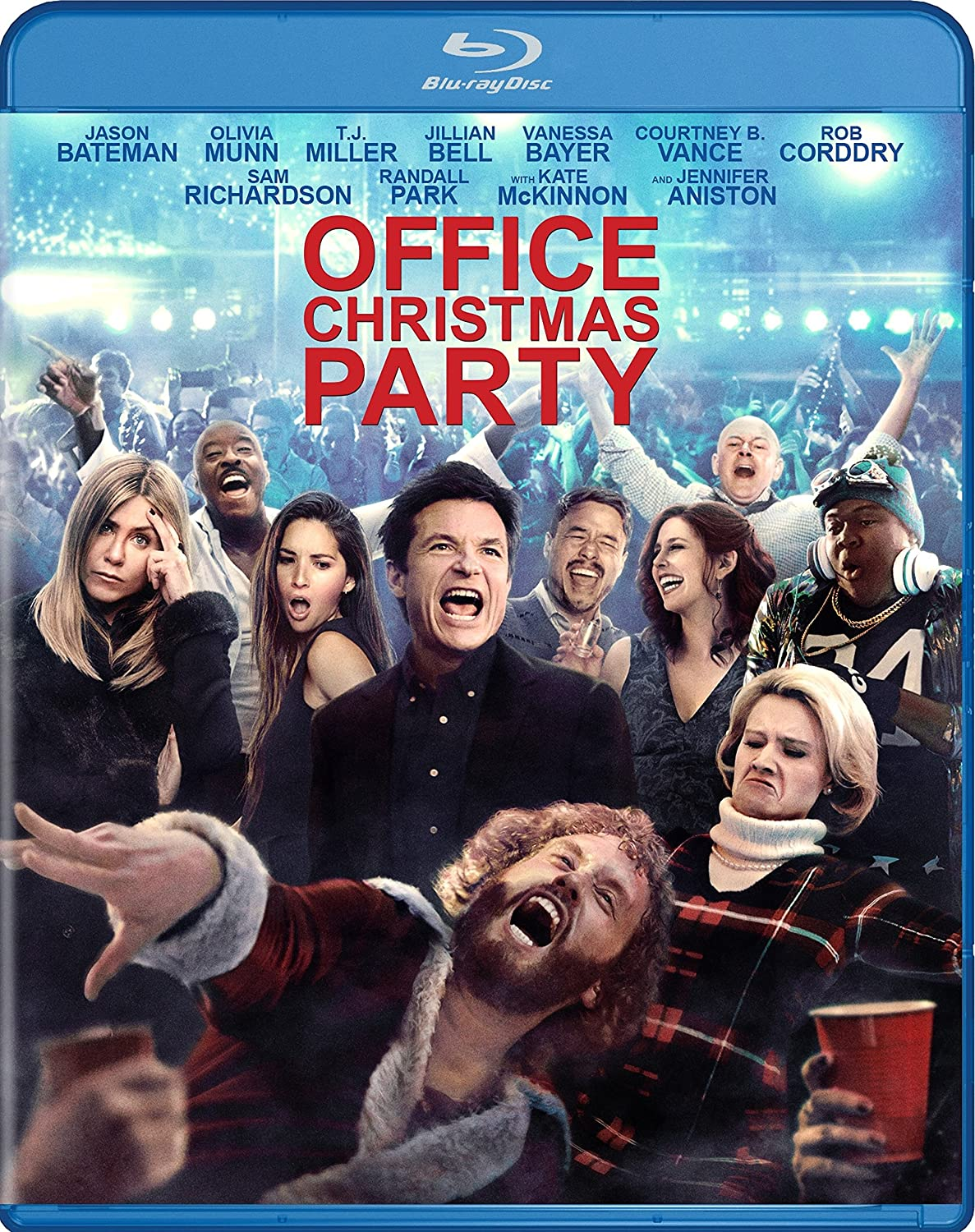 Amazon.com: Office Christmas Party [BD/DVD/Digital HD Combo] [Blu ...