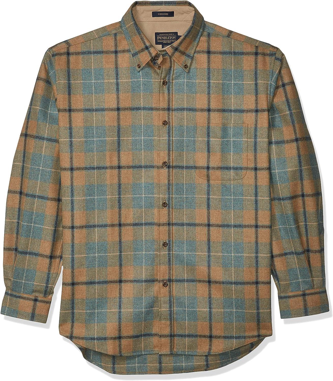 Pendleton, Men's Long Sleeve Fireside Button Down Shirt