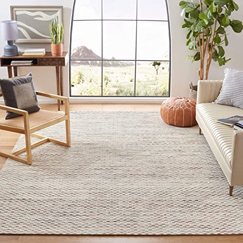 Safavieh Marbella Collection MRB158P Hand-woven Wool Area Rug