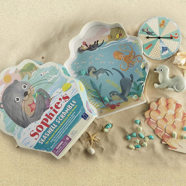 Amazon.com: Educational Insights Sophie\'s Seashell Scramble Game ...