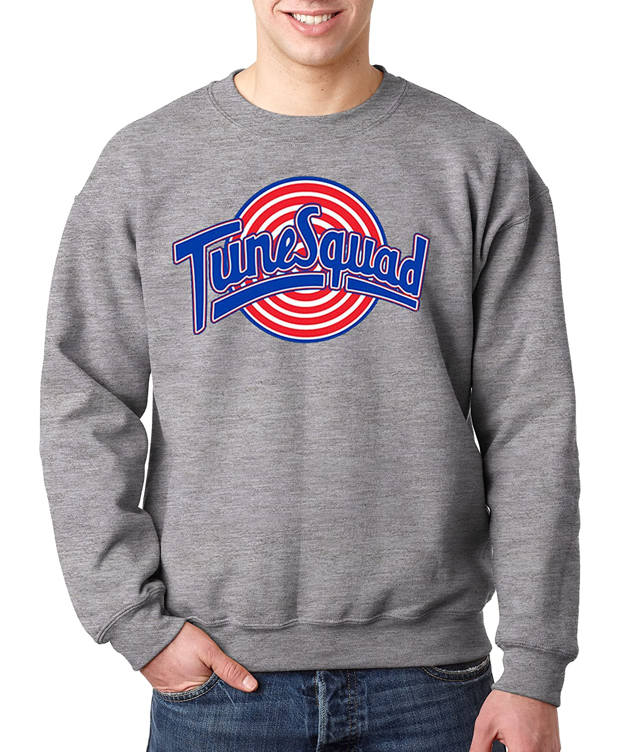 Amazon.com: New Way 487 - Crewneck Tune Squad Space Jam Basketball ...