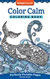 Color Calm Coloring Book: Perfectly Portable Pages (On-the-Go Coloring Book) (Design Originals) Extra-Thick High-Quality…