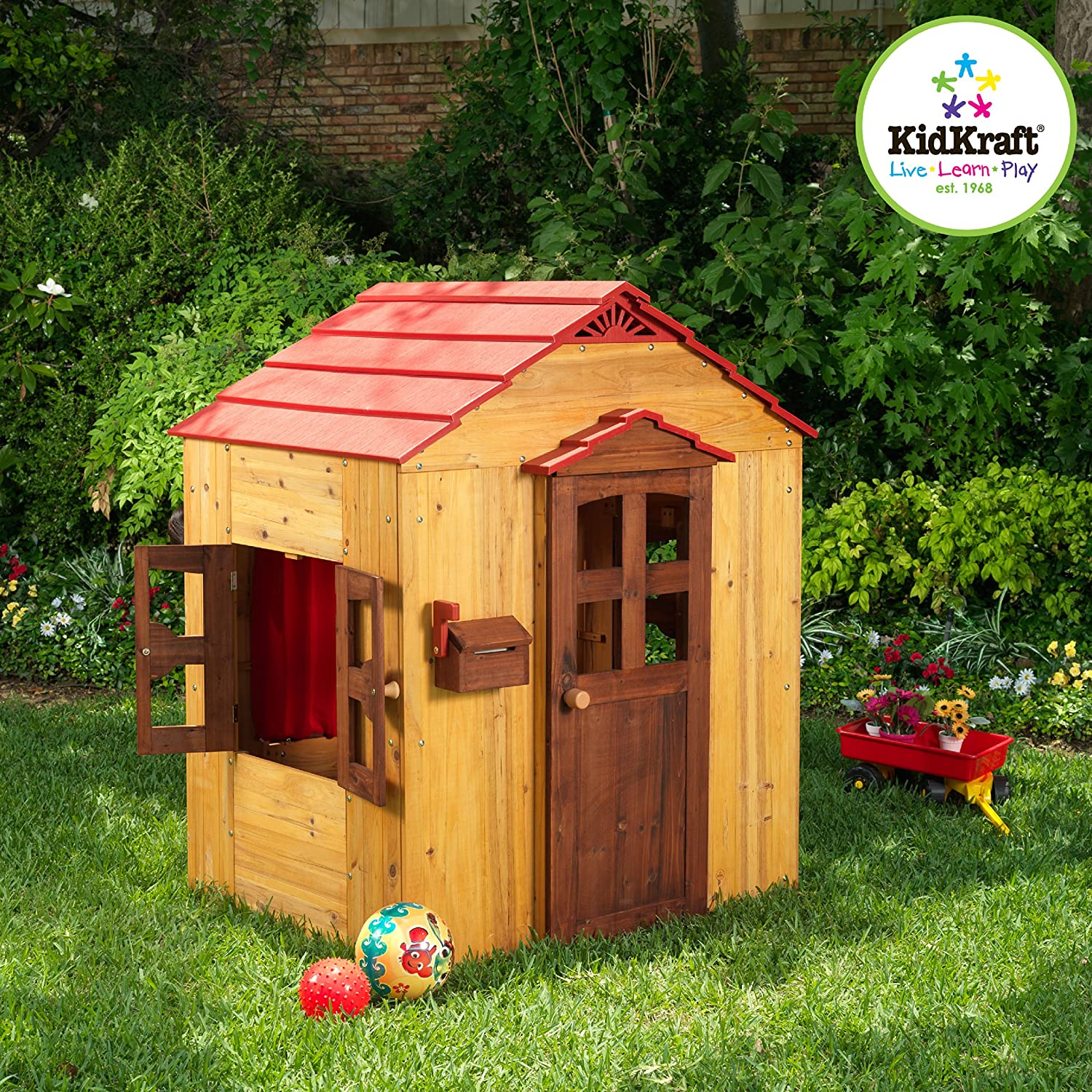 Amazon KidKraft Outdoor Playhouse Toys & Games
