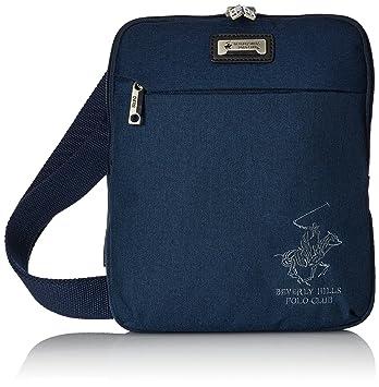 Beverly Hills Polo Club Messenger Bag, 27 cm, Navy 5115852  Amazon.co.uk   Luggage 34e48b76ad