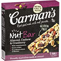 Carman's Nut Bar Almond, Cashew & Cranberry, 5-Pack (175g)