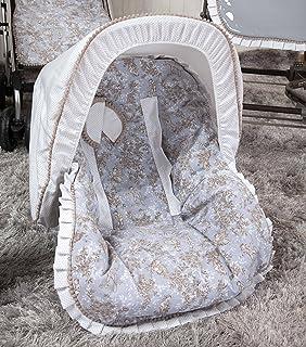 Babyline Toile - Colchoneta para silla grupo 0, color gris