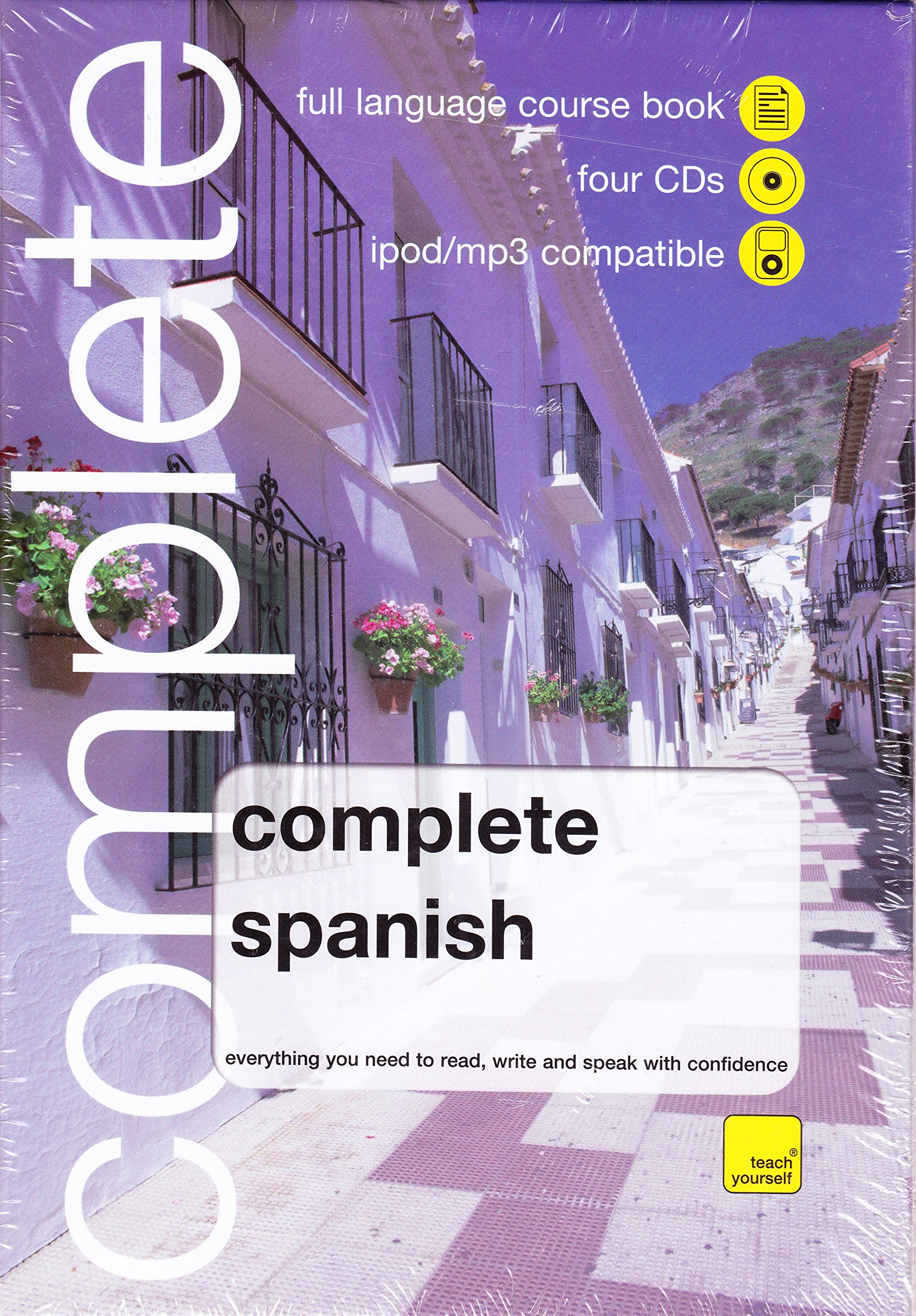 Whsmith teach yourself complete spanish book4 cd pack amazon whsmith teach yourself complete spanish book4 cd pack amazon juan kattan ibarra 9780340990629 books solutioingenieria Choice Image