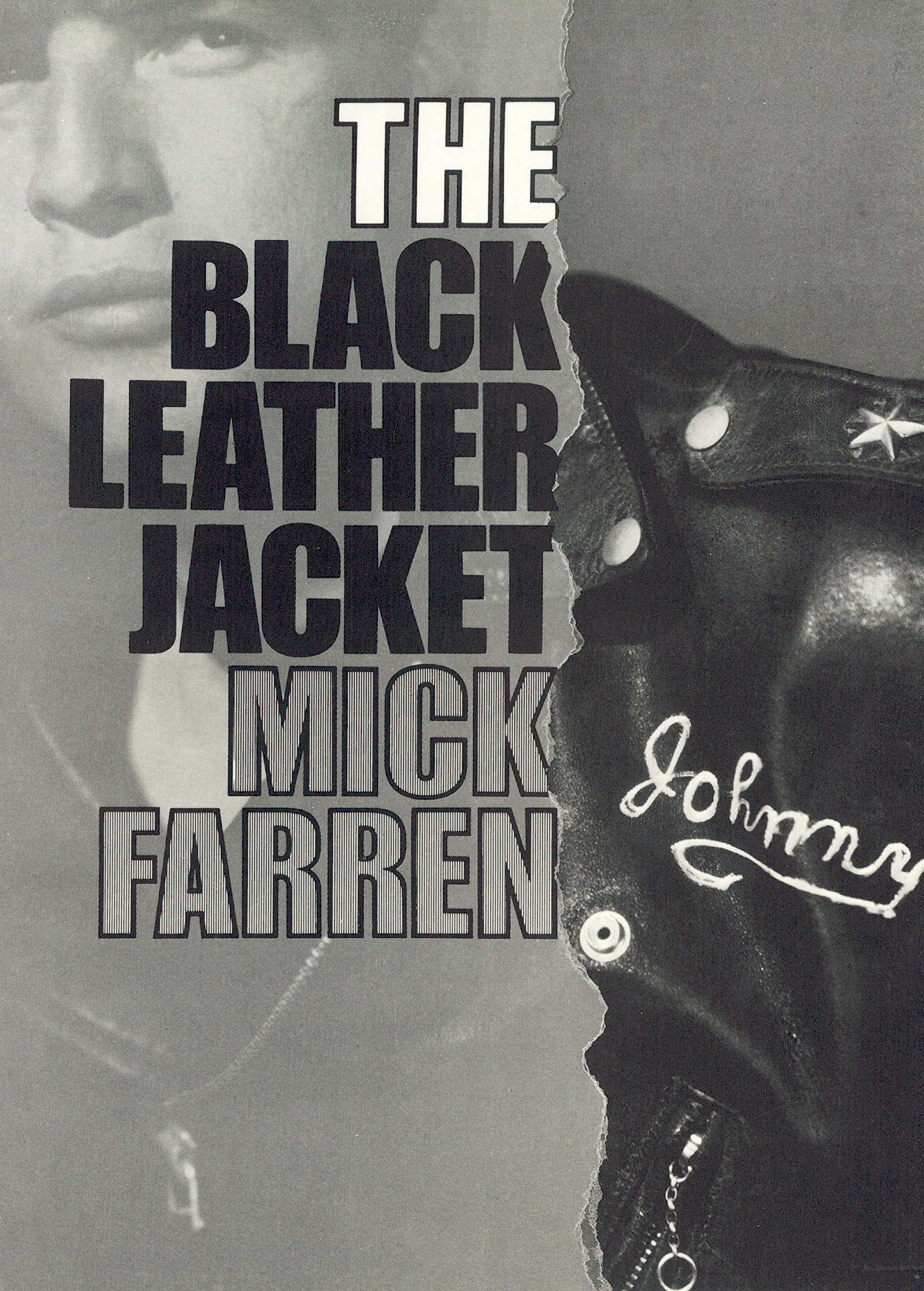 Book Cover Black Jacket ~ The black leather jacket mick farren  amazon