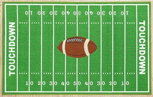 Furnish My Place 705 Solid Football 6'7″x9'2″ Dalyn Rug