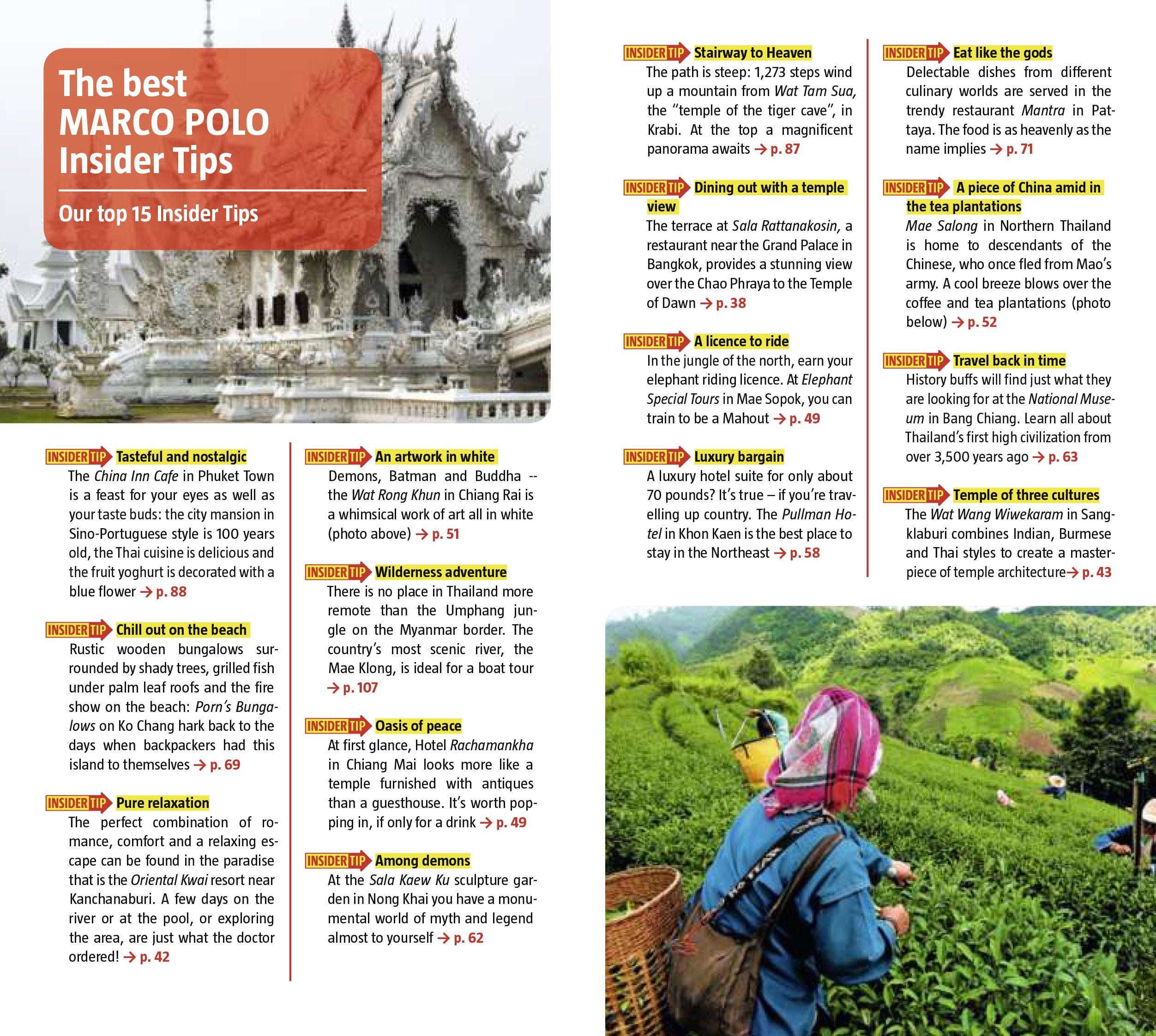 de69745b2962d Thailand Marco Polo Pocket Guide (Marco Polo Travel Guides) (Marco Polo  Guides)  Amazon.co.uk  Marco Polo  9783829706797  Books