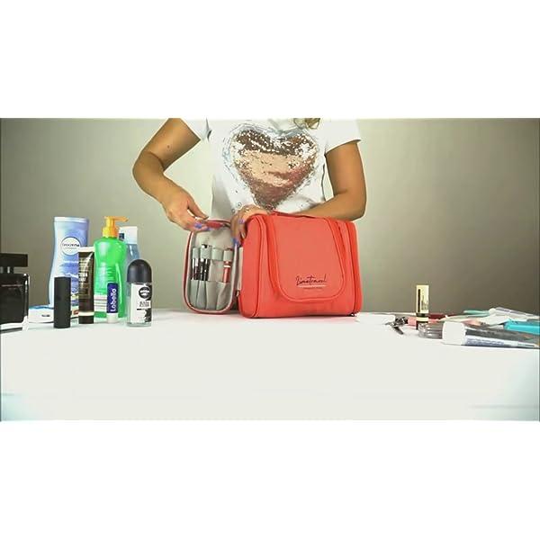 R.line Beauty Case da Viaggio Termica | Miglior Beauty Case Donna Impermeabile | Beauty Case Viaggio da Appendere con… 7 spesavip