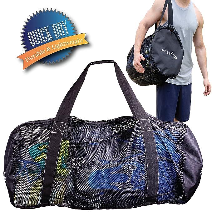 Amazon.com: Athletico - Bolsa de malla para buceo o snorkel ...
