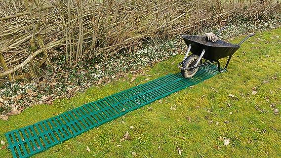 Dry Path camino de plastico temporal y portátil para jardín de 3 metros por Britten & James®: Amazon.es: Jardín