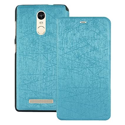 7eab1244656 Heartly Premium Luxury PU Leather Flip Stand Back Case Cover for Xiaomi  Redmi Note 3 -