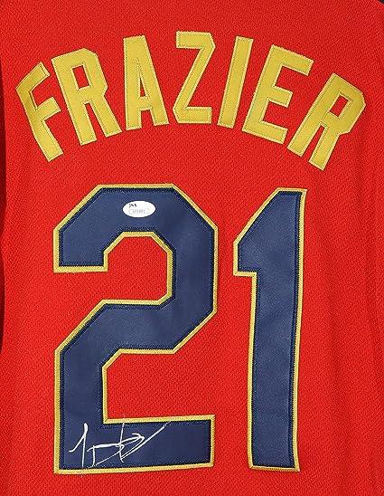 590381a0e ... release date todd frazier cincinnati reds autographed 2014 all star 21  jersey jsa coa edc6d 53f5b