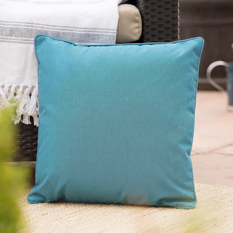 Christopher Knight Home 300728 Coronado CKH Outdoor Pillow, Teal
