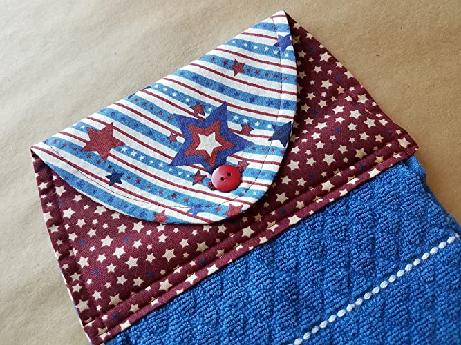 Amazon.com: Patriotic Stars and Stripes Hanging Kitchen Towel ... on red and blue bathrooms, red and blue patio ideas, black and red kitchen decorating ideas, red and blue landscaping, red and blue christmas tree decorations, red kitchen accessories ideas, red and blue architecture, red and blue party ideas, red and blue living room ideas, red and blue painting ideas, red and blue tablecloth, red and blue jordan's, red and blue wedding ideas, red country kitchen ideas, red kitchen cabinet ideas, red and blue diy, red kitchens with white cabinets, red farmhouse kitchen ideas, red and blue tips, red and blue fashion,