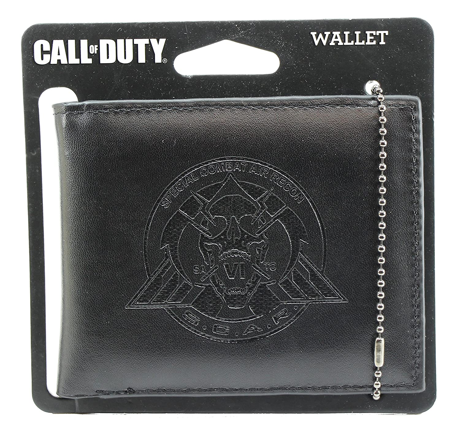 Official Call of Duty Scar Special Combat Air Recon Logo Design Black Bi-Fold Wallet Imagine8 UK Limited