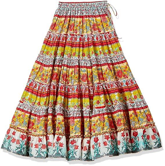 ee81411f13 Biba Girls' Skirt: Amazon.in: Clothing & Accessories