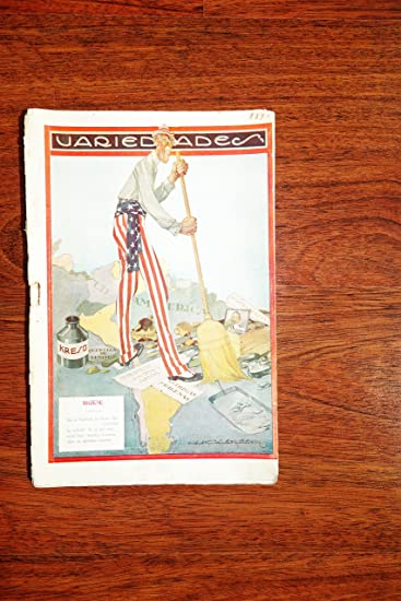 VARIEDADES * Magazine illustrated Year: 1918 LIMA PERU SPANISH Revista RARE NOV