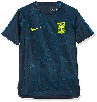 Nike Dry Squad Camiseta-Línea Neymar, Niños: Amazon.es: Deportes y aire libre