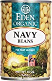 Eden Organic Navy Beans, 15 oz