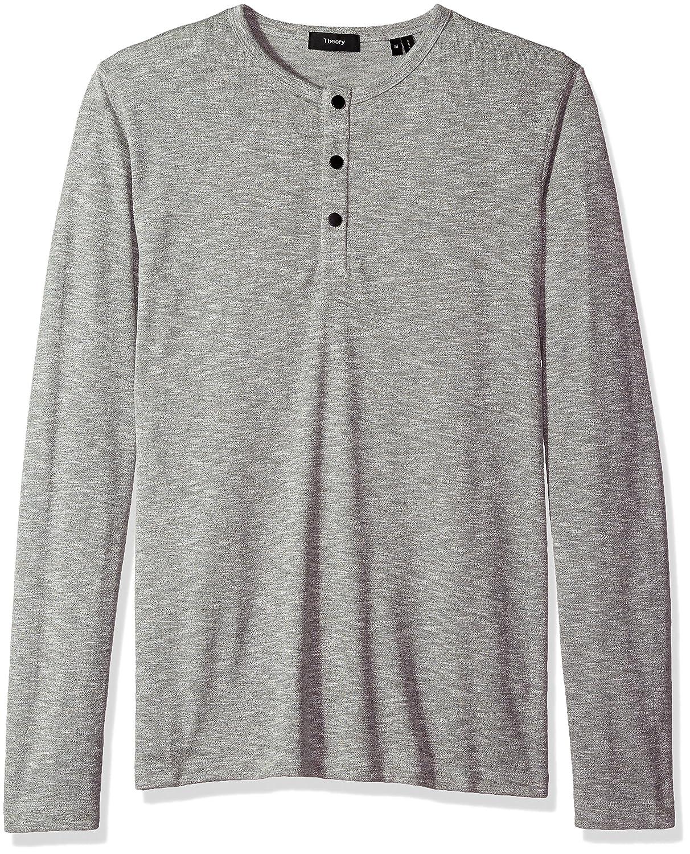 c00766c0401 Amazon.com  Theory Men s Front Snap Henley  Clothing