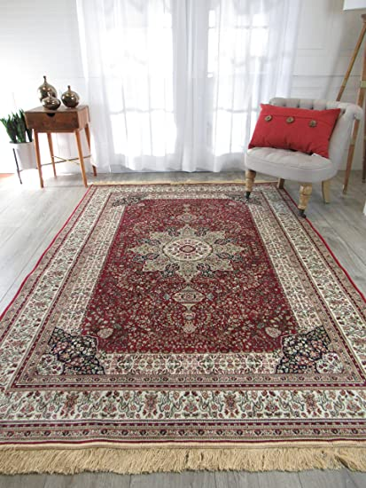 for rugs dp red amazon quality as office persian clearance room bedroom com living