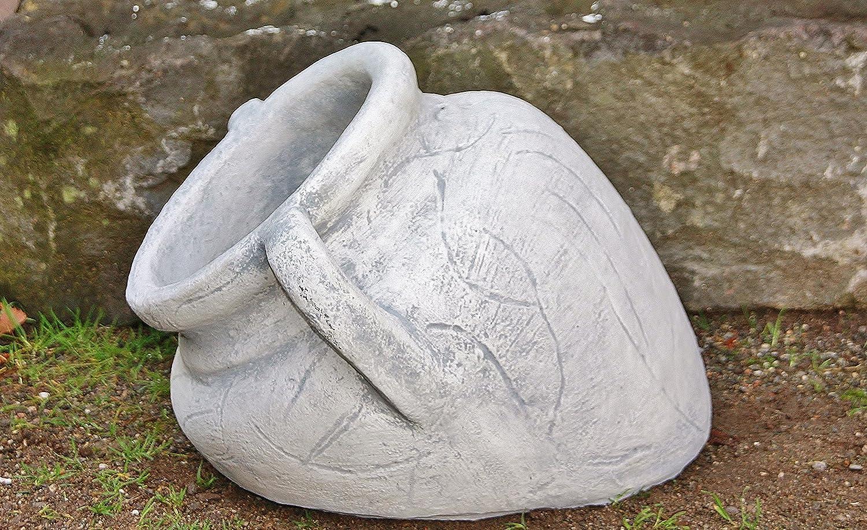 Amphore Phiole groß, Pflanztopf, Topf, Skulptur aus Steinguss ...