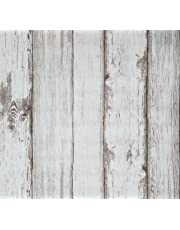 Wallpaper 20.8x222 inch Wood Contact Paper Self Adhesive Peel and Stick Vinyl Decorative Film Roll Shiplap Wall Covering for Wall Kitchen Cabinet Furniture Shelf Liner Drawer Desk Table Cupboard