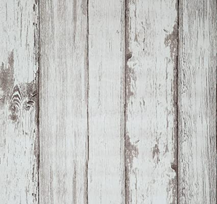 Wood Wallpaper, 20 8x222 inch Self Adhesive Wall Paper Peel and Stick Vinyl  Film Roll Shiplap Wall Covering for Kitchen Wall Cabinet Furniture Shelf