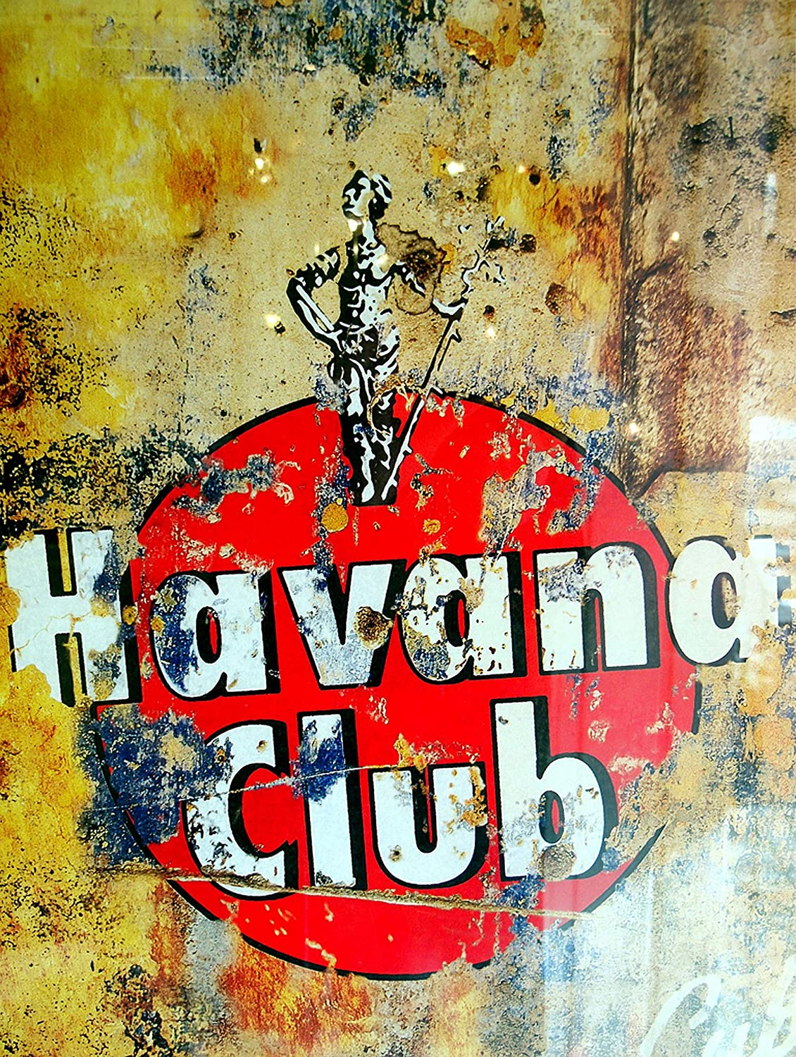 Plaque murale en métal Havana Club ALUMINIUM SIGN