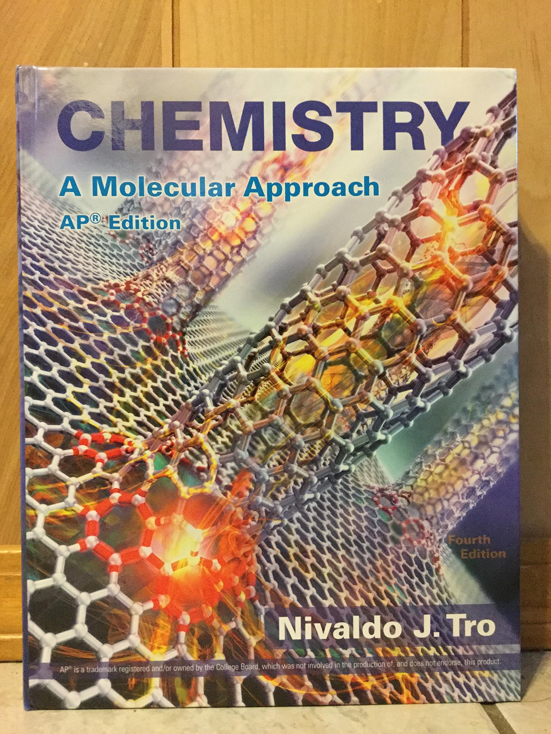Chemistry A Molecular Approach, AP Edition: Nivaldo J. Tro: 9780134429038:  Amazon.com: Books