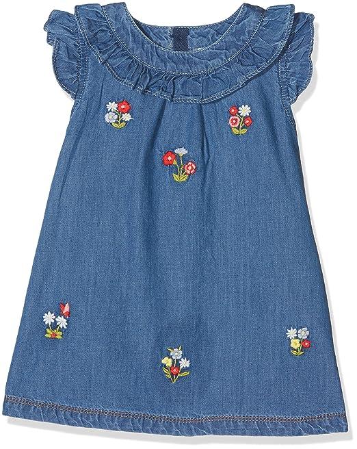 Mayoral 1946, Vestido para Niñas, (Tejano), 176 (Tamaño del Fabricante