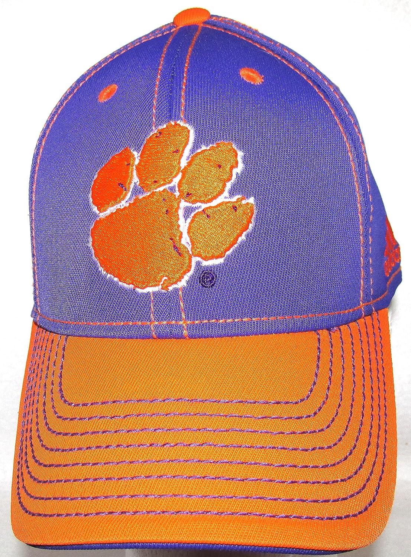 Clemson Tigersチームカラークラシックキャップ帽子S/M Flex Fit   B01M7YXQHI