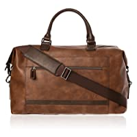 VON HEESEN Reisetasche Weekender Reisegepäck Handgepäck Tasche mit Trolleyfunktion für Damen & Herren