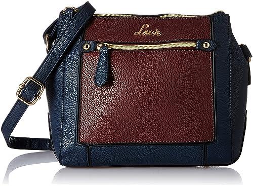 6993b6e8b7 Lavie Jeffrey Women s Sling Bag (Blue)  Amazon.in  Shoes   Handbags