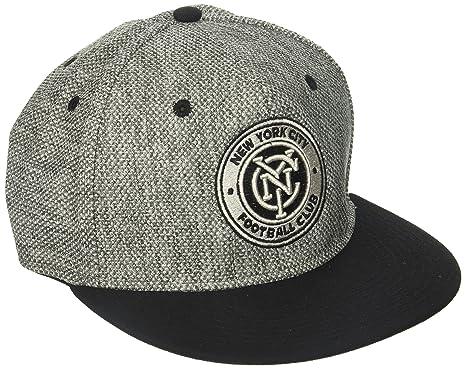 f5c45af1d685c Amazon.com   adidas MLS New York City FC Men s Heathered Gray Fabric ...