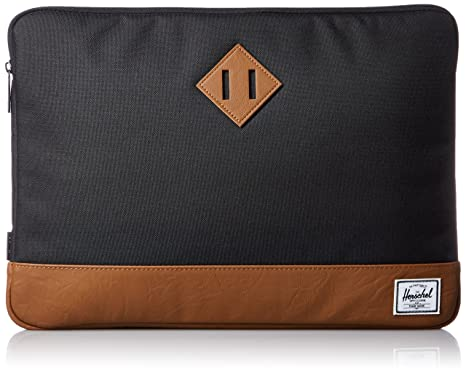 best service 9ef51 0d058 Herschel Supply Co. Heritage Sleeve for 13 Inch MacBook, Black, One Size