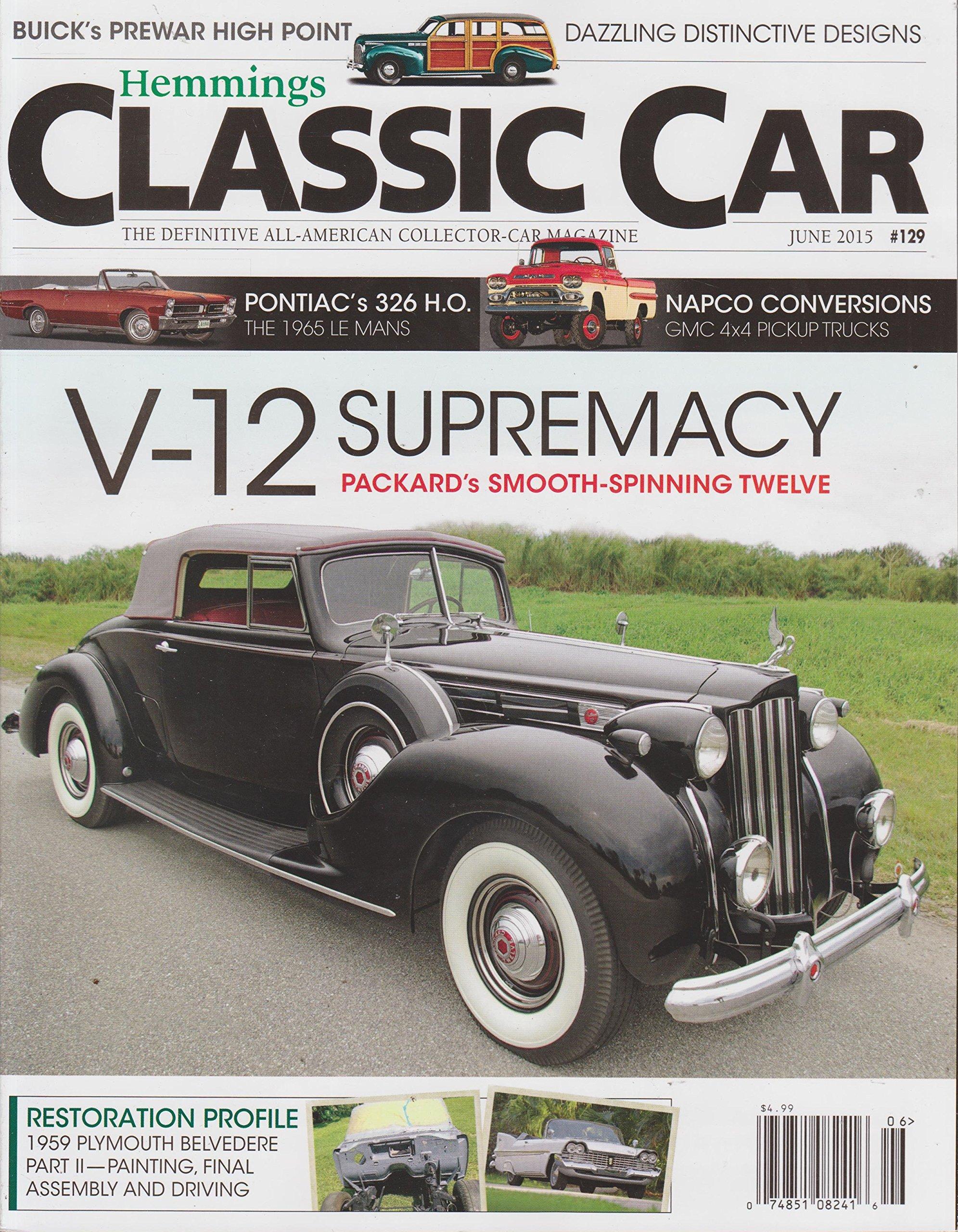 Read Online Hemmings Classic Car Magazine June 2015 PDF