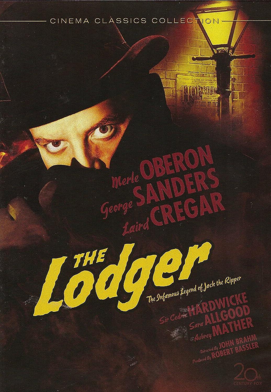 The lodger Merle Oberon vintage movie poster