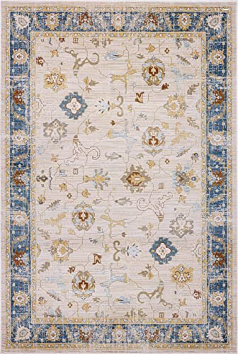 Pierre Cardin Home Lagoon Collection Oriental Traditional/Vintage Design Abstract Area Rug