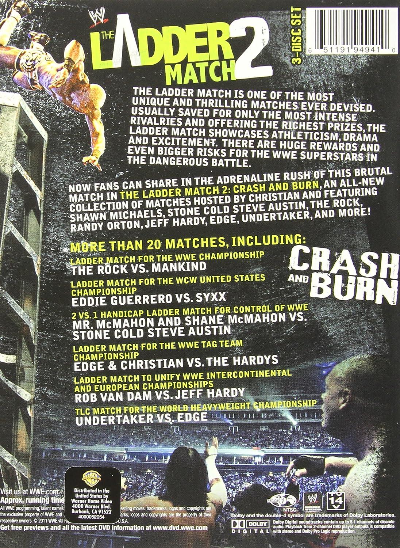 Wwe Ladder Match 2 Pack Import Usa Zone 1 Amazon Fr Dvd Blu Ray