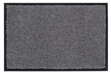Fußmatte// Abtretter 50 x 80 cm Neu Waschbar 30° Grau