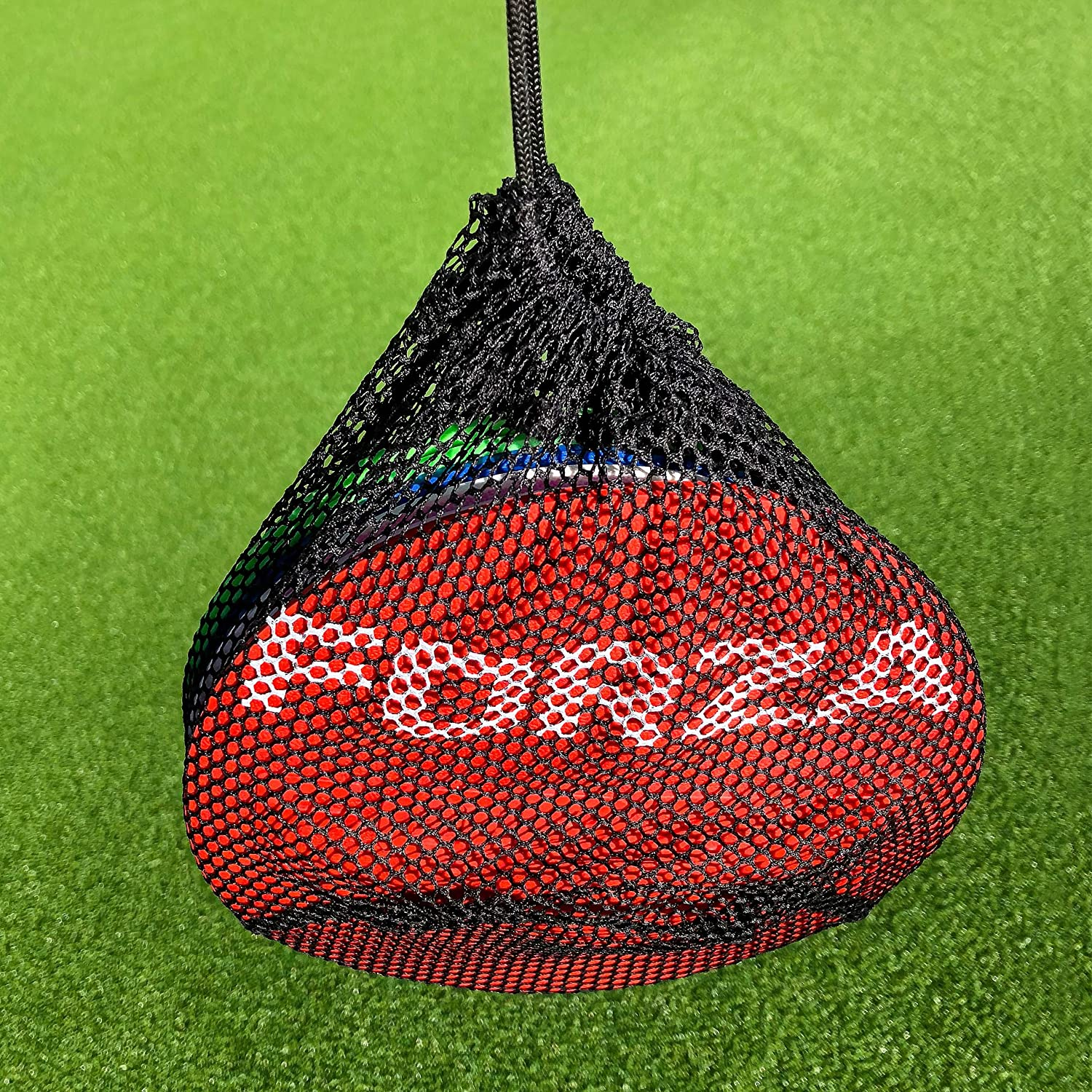 FORZA Carry Bag For Flat Disc Markers – 20 or 50 Disc Capacity – Spare Or Replacement Carry Bag [Net World Sports]