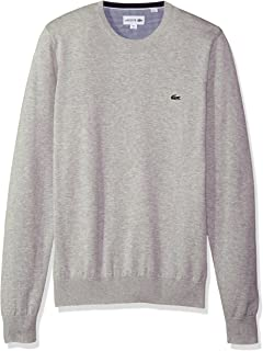 f6ed762f080 Lacoste Men's V Neck Cotton Jersey Sweater at Amazon Men's Clothing ...